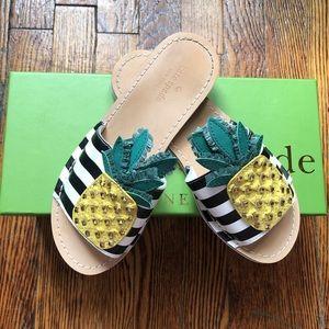 🍍Icarus pineapple Kate Spade sandals🍍